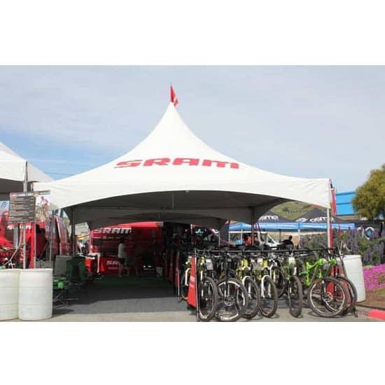 20' x 20' Heavy Duty Canopy Tent - Full Digital Print