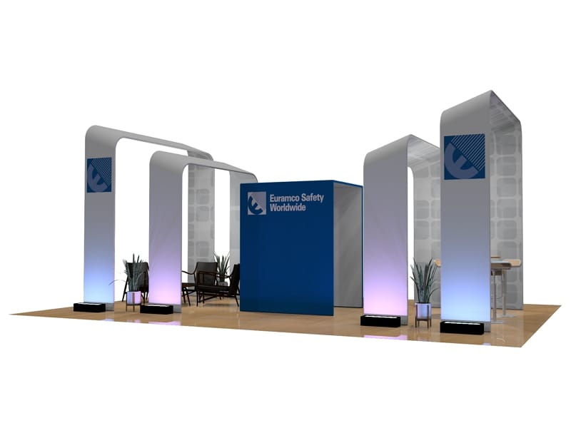 custom tension fabric exhibits