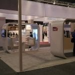 20' x 50' Custom Booth for SNCF