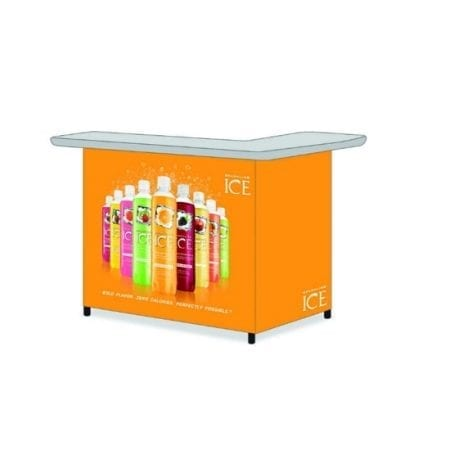 Portable Custom Branded Canopy Bar