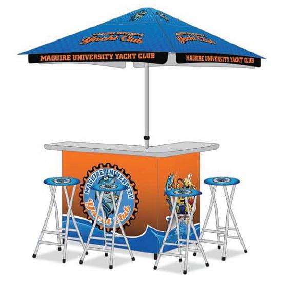 Portable Custom Branded Canopy Bar