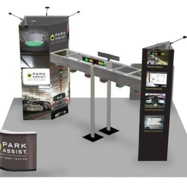 20' x 20' Exhibit Display Las Vegas