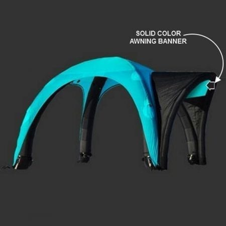 Solid Color Awning Banner