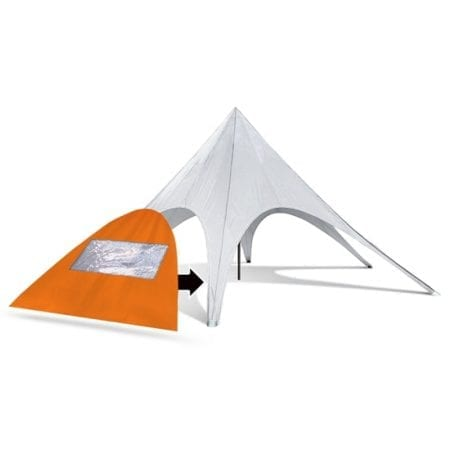 Star Tent Wall with Window