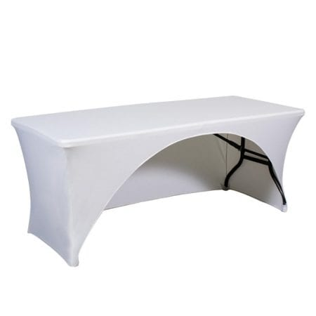 6ft Spandex Trade Show Table Cover