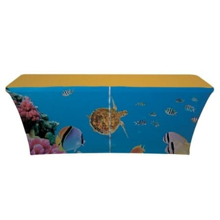6ft Spandex Table Cover - With Zipper