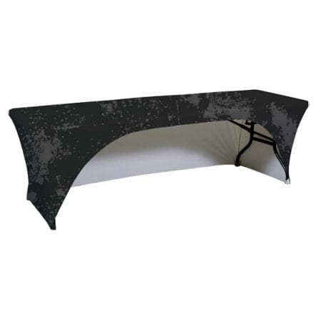 8ft Spandex Table Cover – Open Back