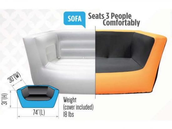 AirLounge Inflatable Couch
