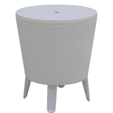 Outdoor Event Cooler Table - Unprinted CLosed
