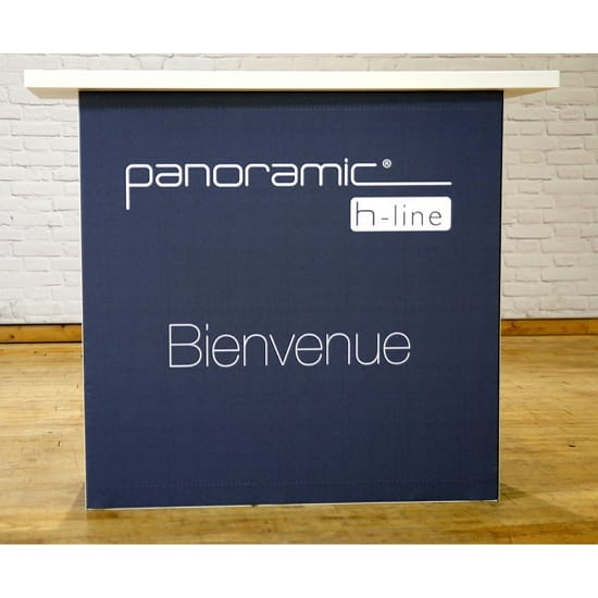 Panoramic Display Counter - Large