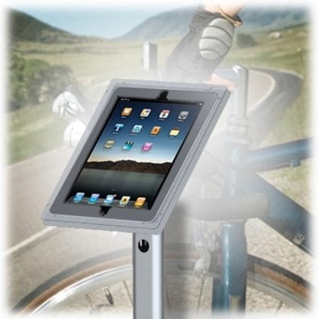 iPad Retractable Stand - iPad Holder Close Up