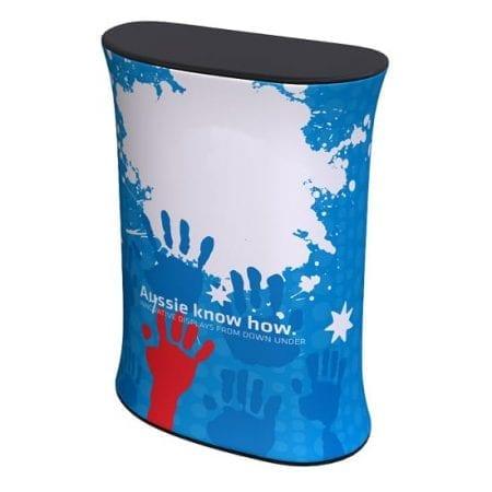 Portable Fabric Podium