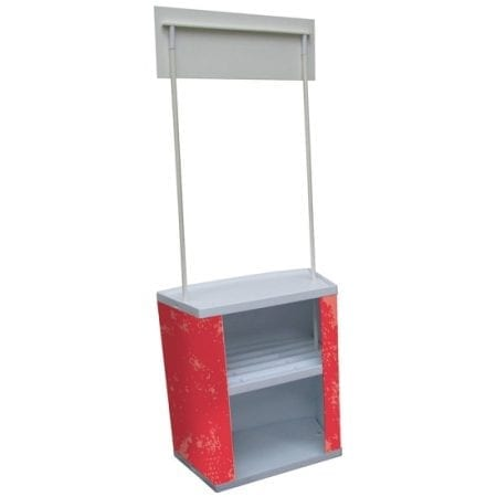 Promotional Demo Counter Storage