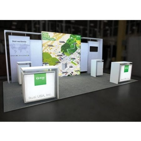 Modular Display Counter 01