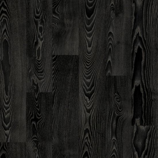 Rollable Vinyl Flooring   Black Wood