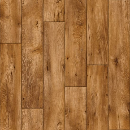 Rollable Vinyl Flooring - Dark Oak