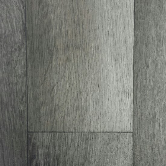 Rollable Vinyl Flooring - Grey Wood