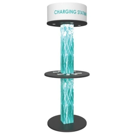 Trade Show Charging Tower