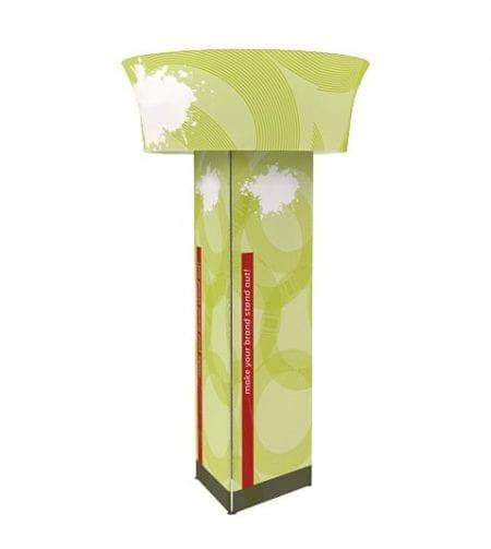 16' High Rotating Overhead Tower Display - Triangle