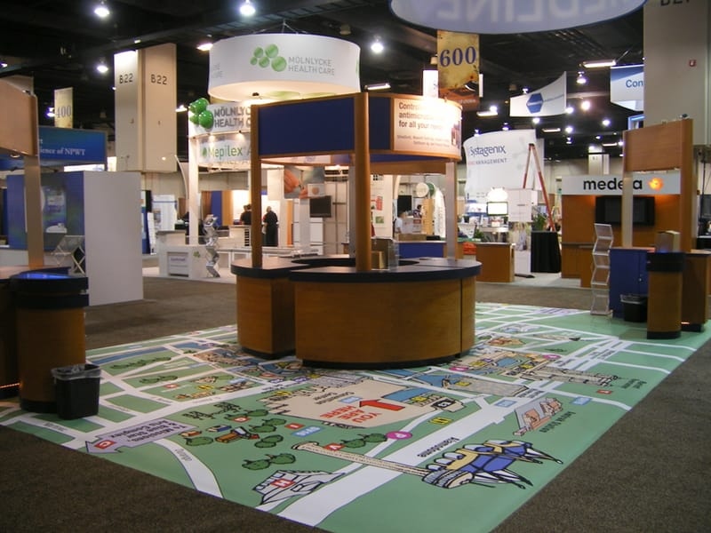 Trade Show Flooring Ideas