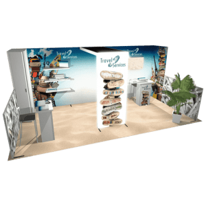 Trade Show Displays Panoramic Display