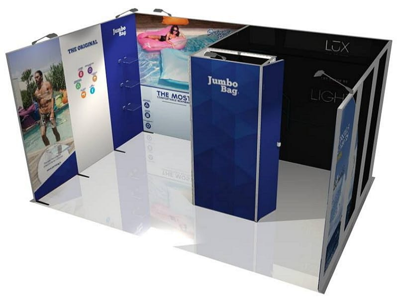 10′ x 15′ Panoramic Exhibit Rental