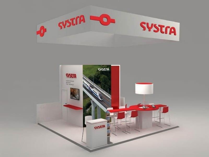 20′ x 20′ Custom Trade Show Booth