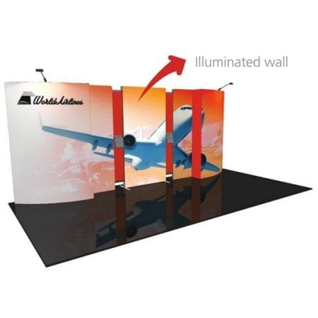 Backlit Trade Show Displays