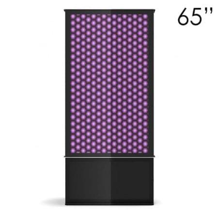 """65"""" Black Digital Poster Screen Tower"""