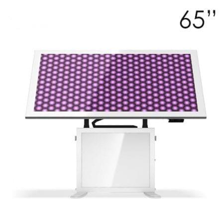 """65"""" White Touchscreen Tables"""