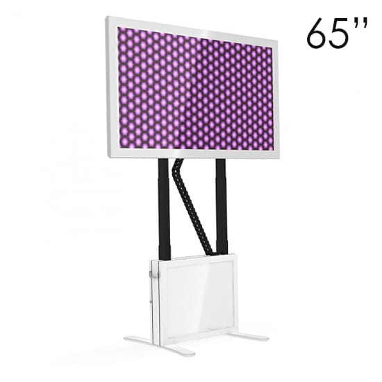 65″ White Touchscreen Tables