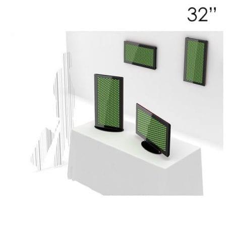 "32"" Black Digital Screen Table Top"