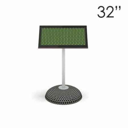 """32"""" Black Digital Screen Mini"""