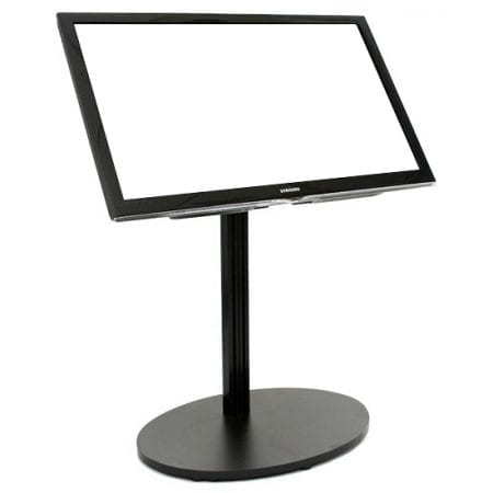 Portable Angled Monitor Stand - Black