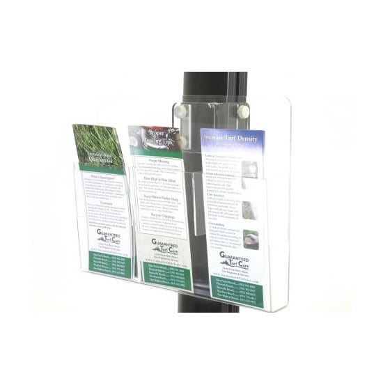 Portable Video Wall Pamphlet Rack