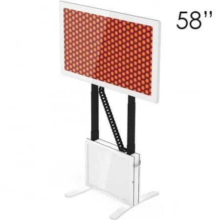"""58"""" White Touchscreen Table"""