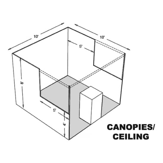 Canopies and Ceilings