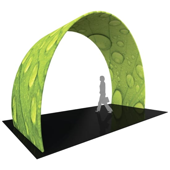 12ft 3D Exhibit Arch - Twisted