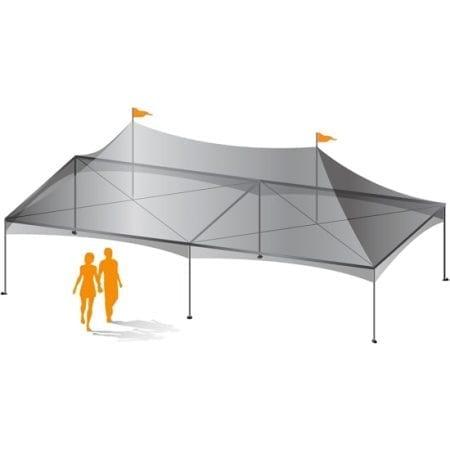 20' x 40' Custom Canopy Tent