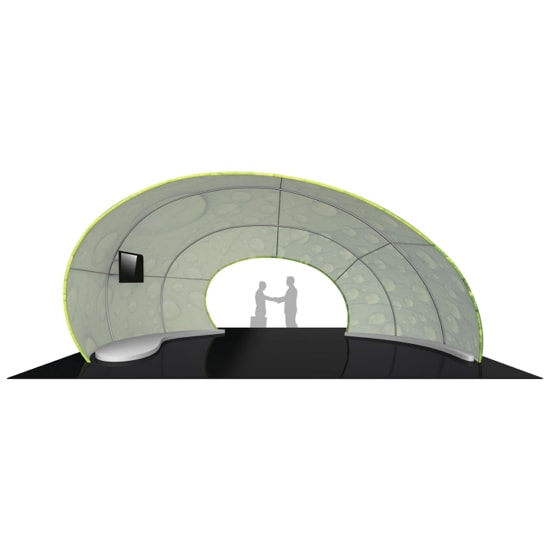 30ft 3D Exhibit Arch