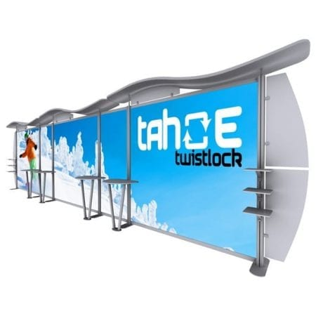 30ft Portable TV Back Wall 2017 version