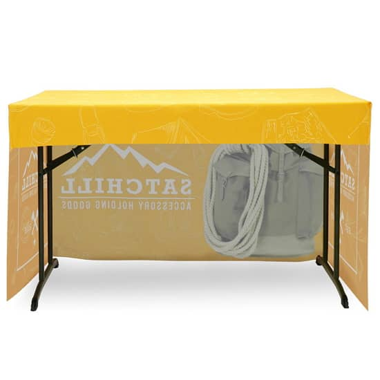 4u0027 3-Sided Trade Show Fitted Table Cover  sc 1 st  Airborne Visuals & 4u0027 3-Sided Trade Show Fitted Table Cover | Philadelphia ...
