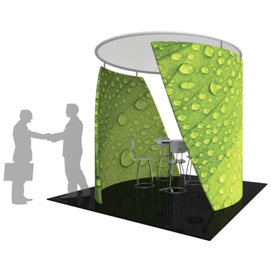 3D Exhibit Shape: Conference Wall