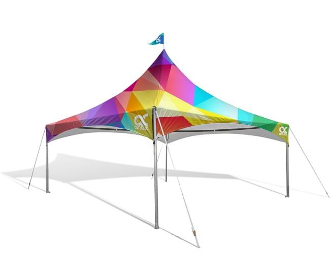 20u2032 x 20u2032 Heavy Duty Custom Canopy Tent  sc 1 st  Airborne Visuals & 20u0027 x 20u0027 Heavy Duty Custom Canopy Tent   20x20 Custom printed Tent