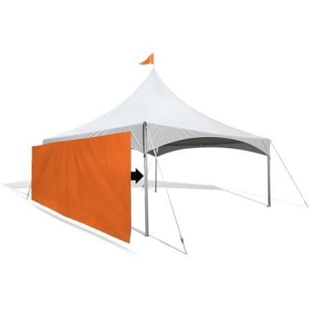 Custom Canopy Tent Wall
