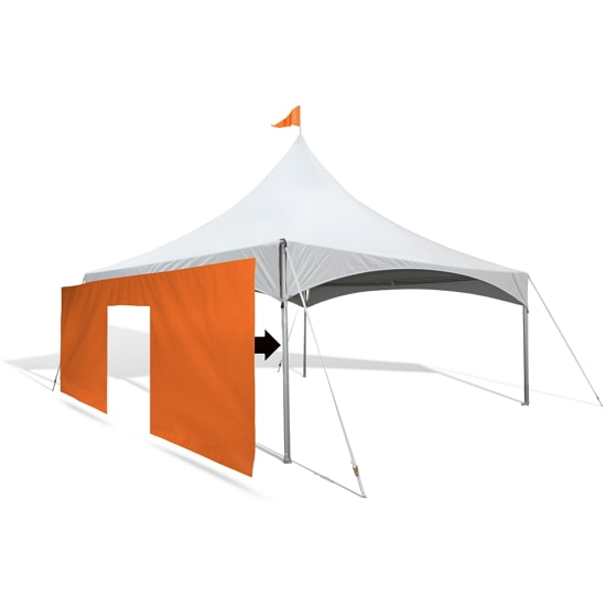 Custom Canopy Tent Wall w/ Door