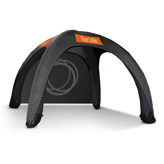 Inflatable Dome Tent Stock Color w/ Logos
