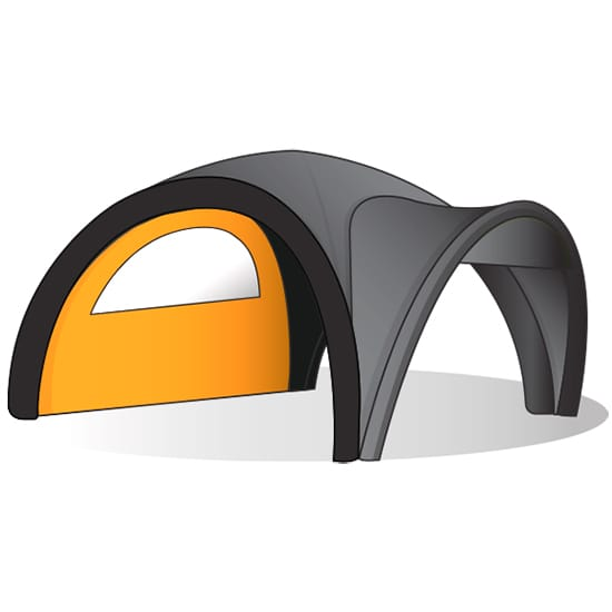 Inflatable Dome Tent Walls