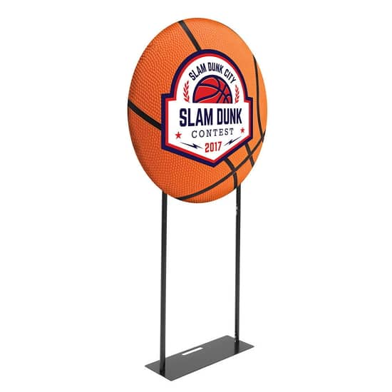 3ft EZ Extends Circle Banner Stand