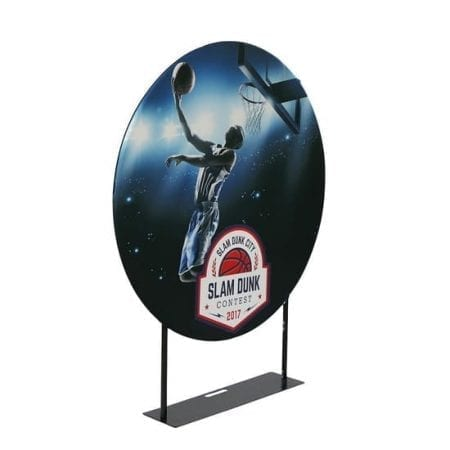 5 feet EZ Extends Circle Banner Stand